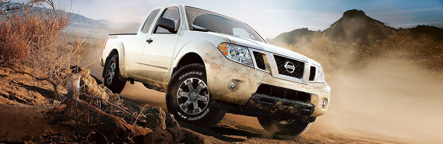 2017 Nissan Frontier White Exterior