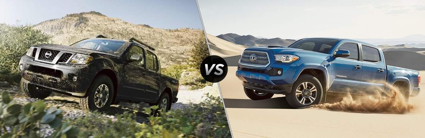 2017 Nissan Frontier vs 2017 Toyota Tacoma