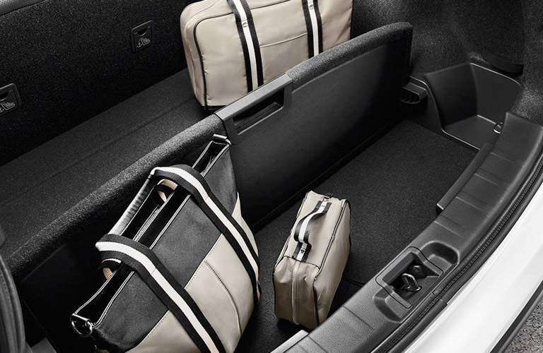 2017 Nissan Rogue Sport Trunk with luggage