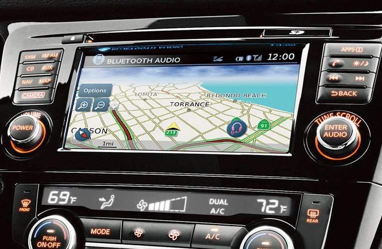 2017 Nissan Rogue Sport Navigation Display