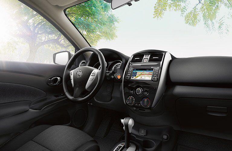 2017 Nissan Versa El Paso TX Front Cabin