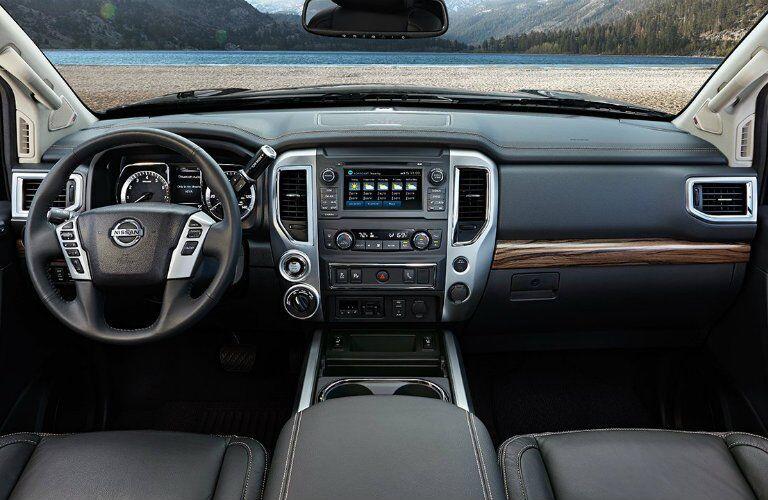 2017 Nissan Titan El Paso TX Front Cabin
