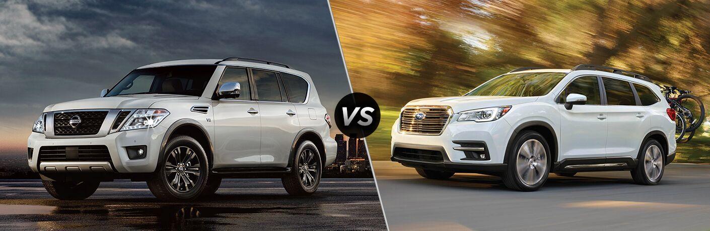 2018 Nissan Armada vs 2019 Subaru Ascent