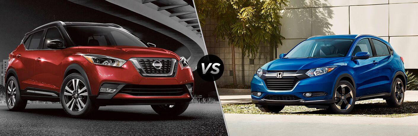 2018 Nissan Kicks vs 2019 Honda HR-V