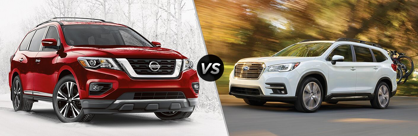 2018 Nissan Pathfinder vs 2019 Subaru Ascent