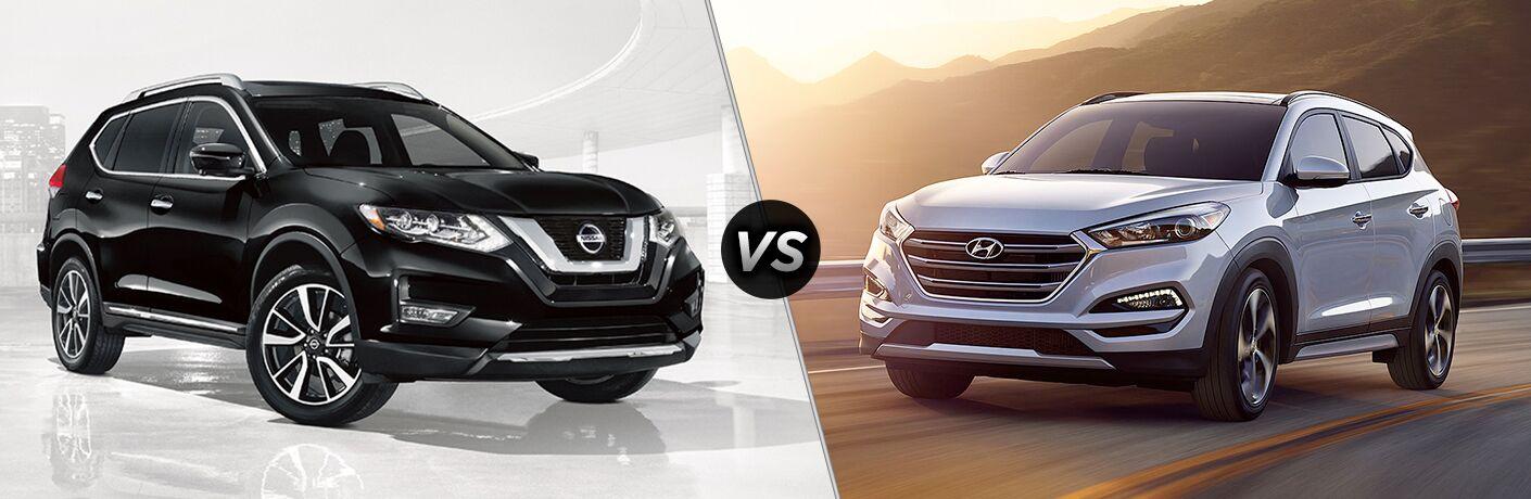 2018 Nissan Rogue vs 2018 Hyundai Tucson