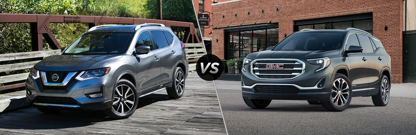 2018 Nissan Rogue vs 2018 GMC Terrain