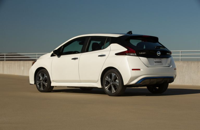 2020 Nissan Leaf from rear drivers side