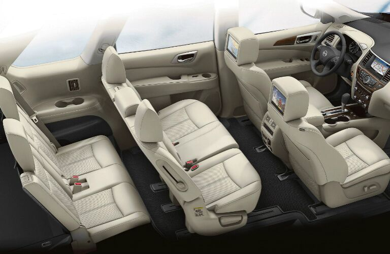 2020 Nissan Pathfinder seating capacity showcase