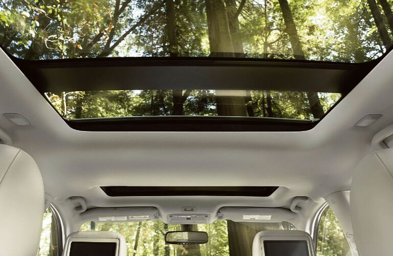 2020 Nissan Pathfinder dual sunroof showcase