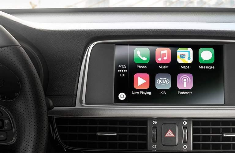 2017 Kia Optima touch-screen display