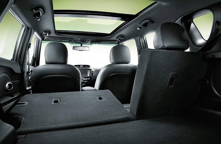 2017 Kia Soul 60/40 split-folding rear seat