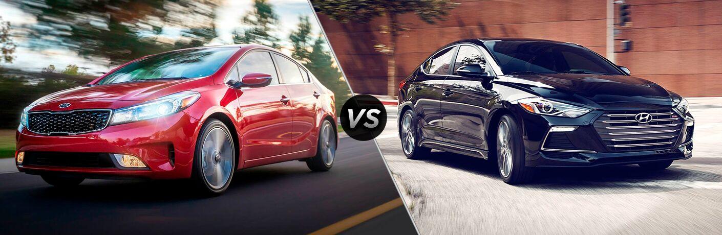 2018 Kia Forte vs 2018 Hyundai Elantra