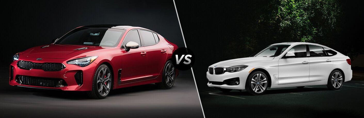 2018 Kia Stinger vs 2018 BMW 3 Series Gran Turismo