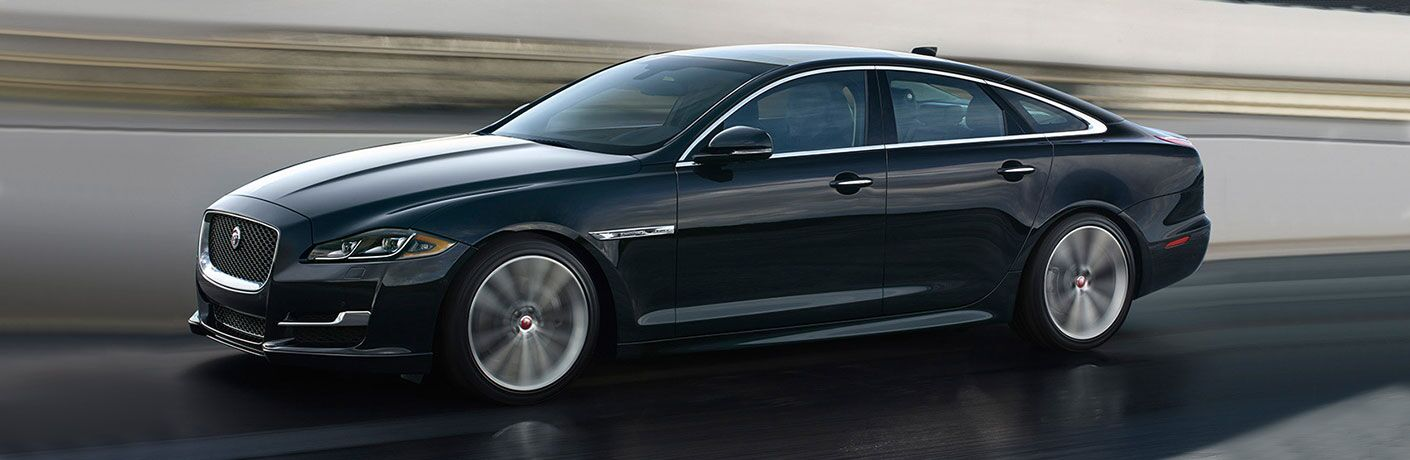 Profile view of 2018 Jaguar XJ