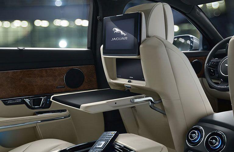 2018 Jaguar XJ Interior Cabin Rear Seat Entertainment