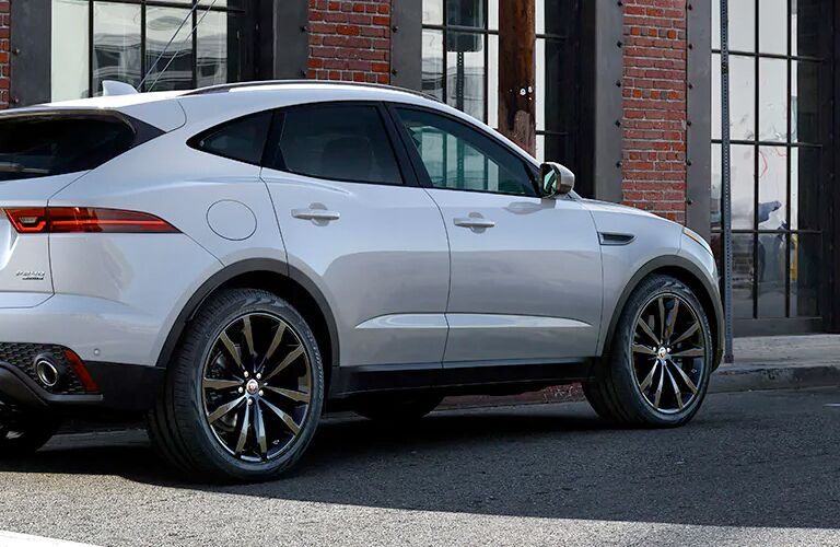 2020 Jaguar E-Pace rear view