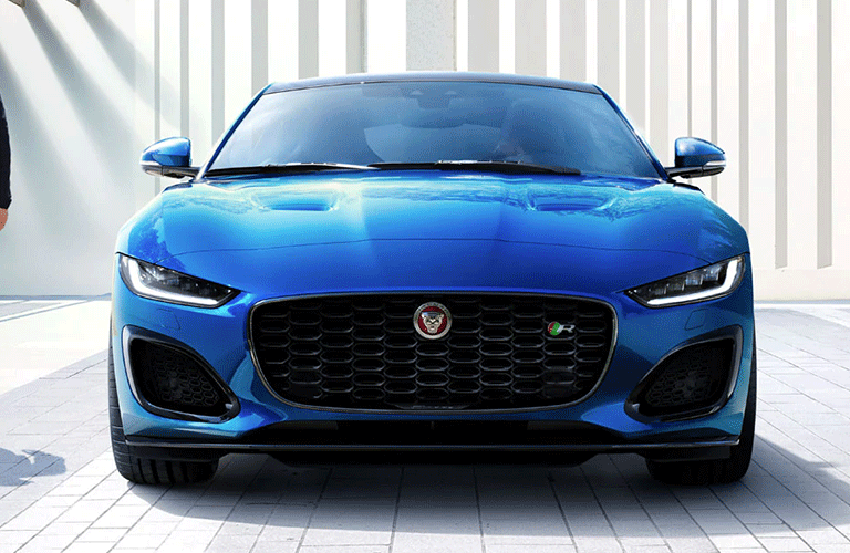 2021 Jaguar F-Type from the front