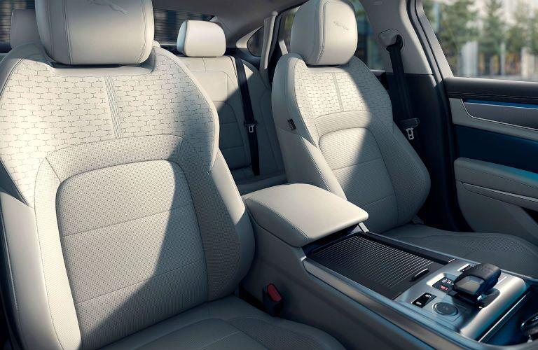 Front seats in 2021 Jaguar XF