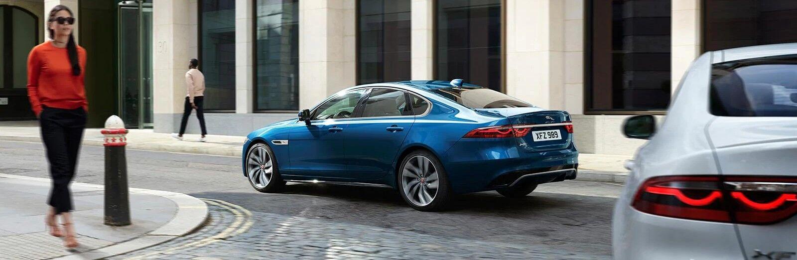 Blue 2021 Jaguar XF