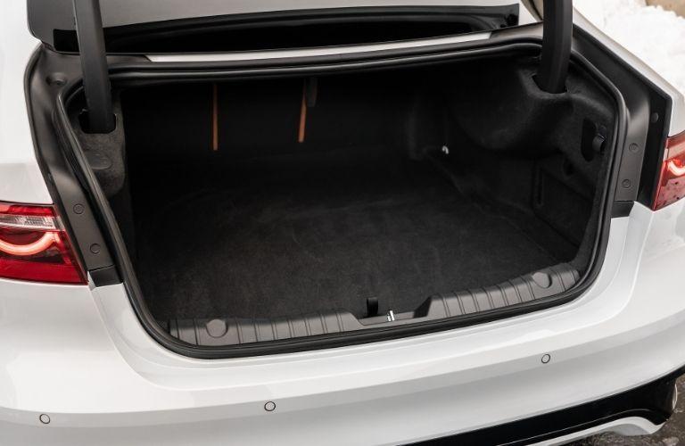 2021 Jaguar XF trunk