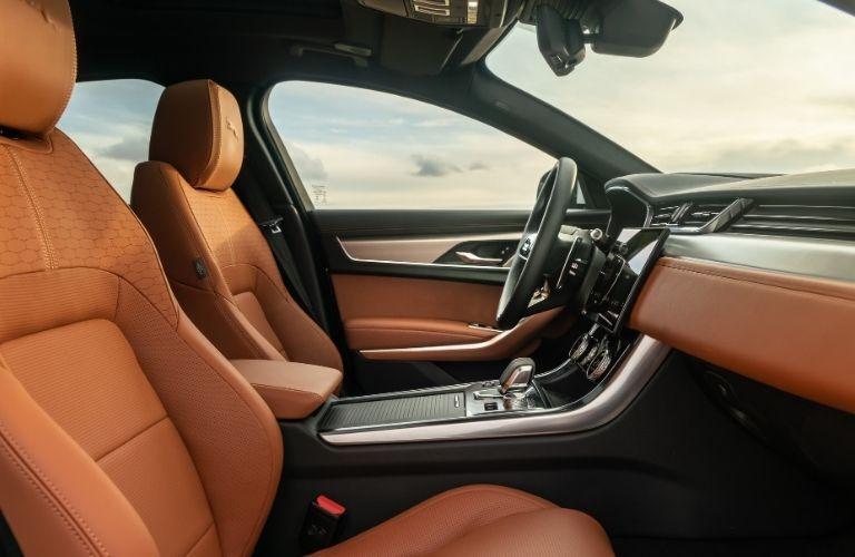 2021 Jaguar XF interior view