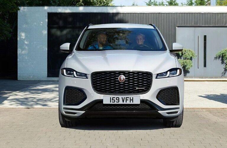 2021 Jaguar F-Pace front view
