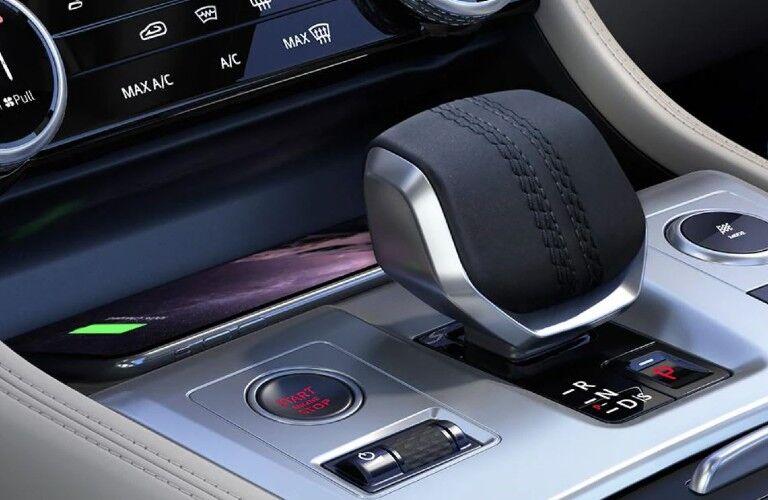 2021 Jaguar F-Pace middle console