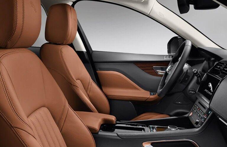 2021 Jaguar F-Pace Interior seating