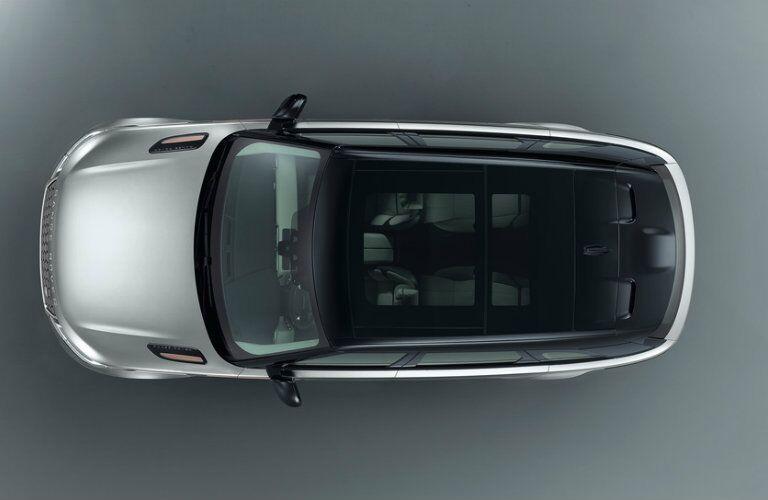 2019 Land Rover Range Rover Velar from above