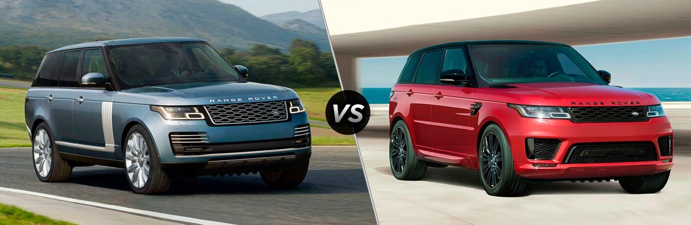 2018 Land Rover Range Rover Vs Range Rover Sport