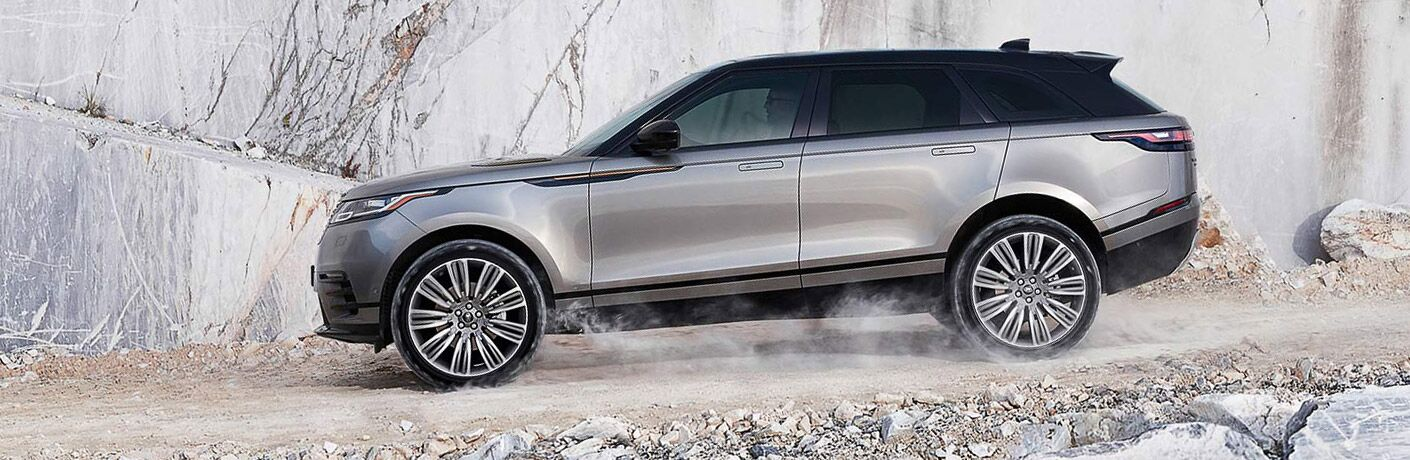 2018 land rover range rover velar off-road driving