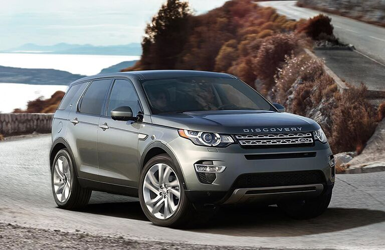 2019 land rover discovery sport full view driving