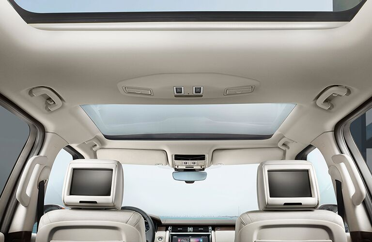 2019 land rover discovery rear entertainment system