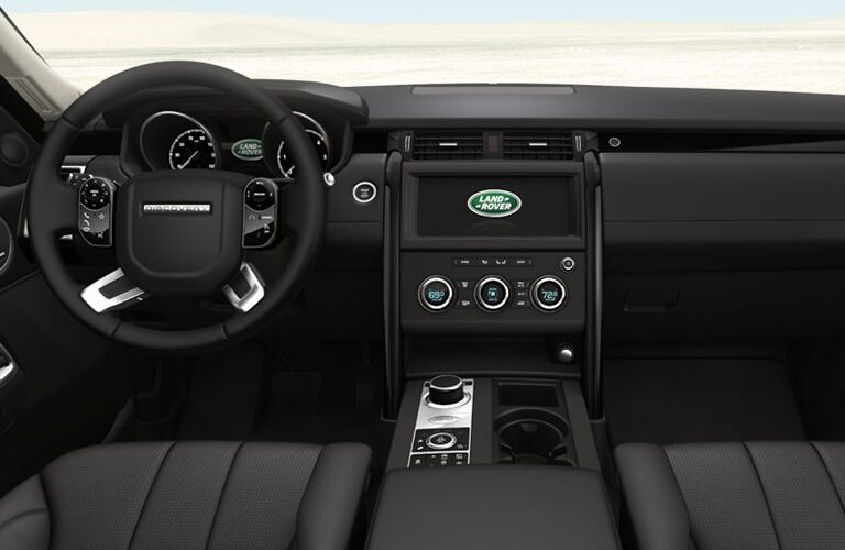 2019 Land Rover Discovery dashboard