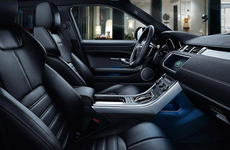 2019 Land Rover Range Rover Evoque interior