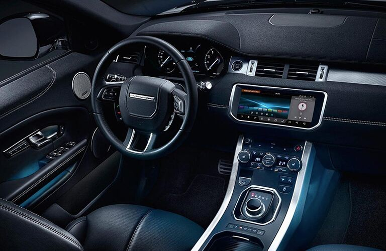 2019 Land Rover Range Rover Evoque dashboard