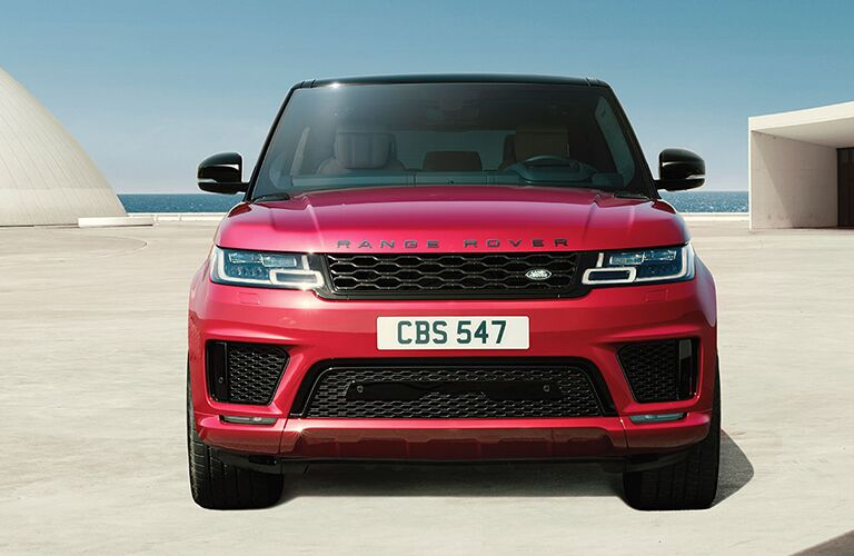 front view of a 2019 Range Rover Sport