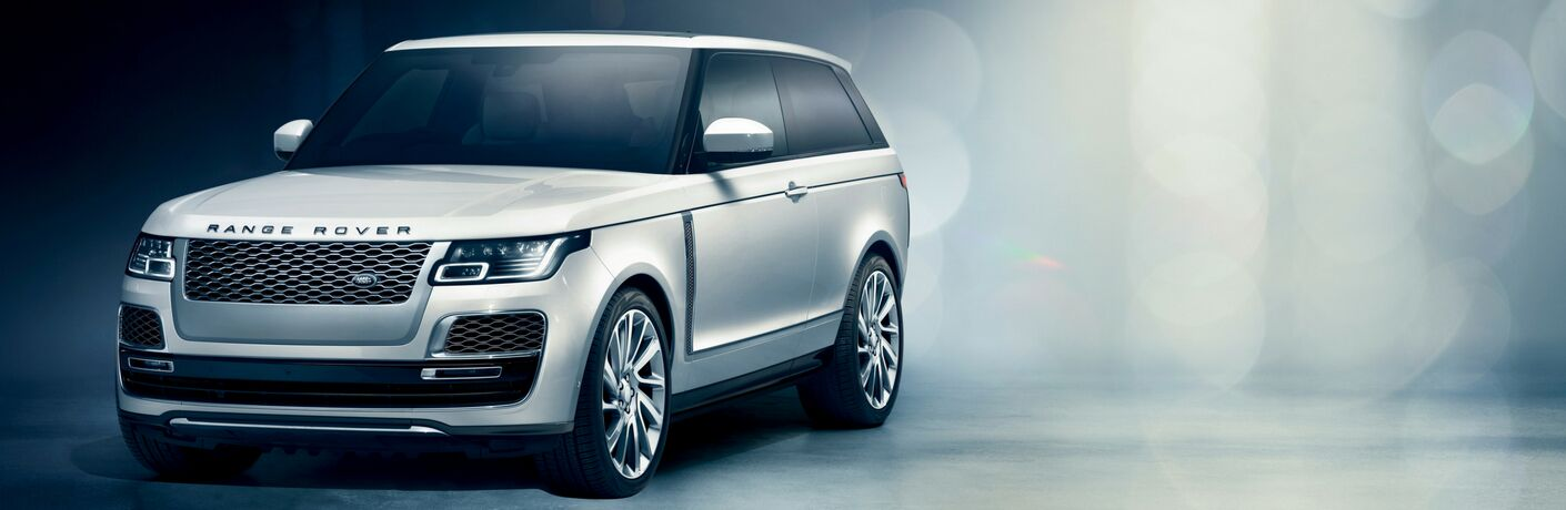 2019 land rover range rover sv coupe full view parked