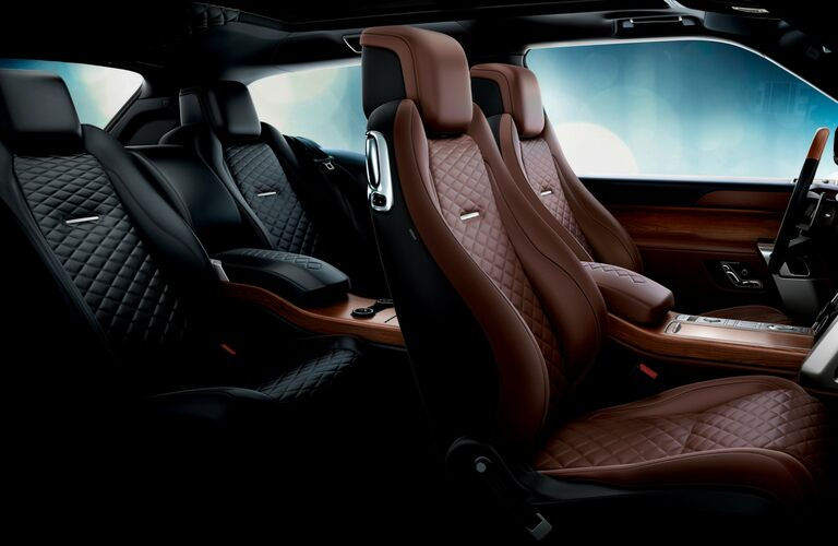2019 land rover range rover seating detail