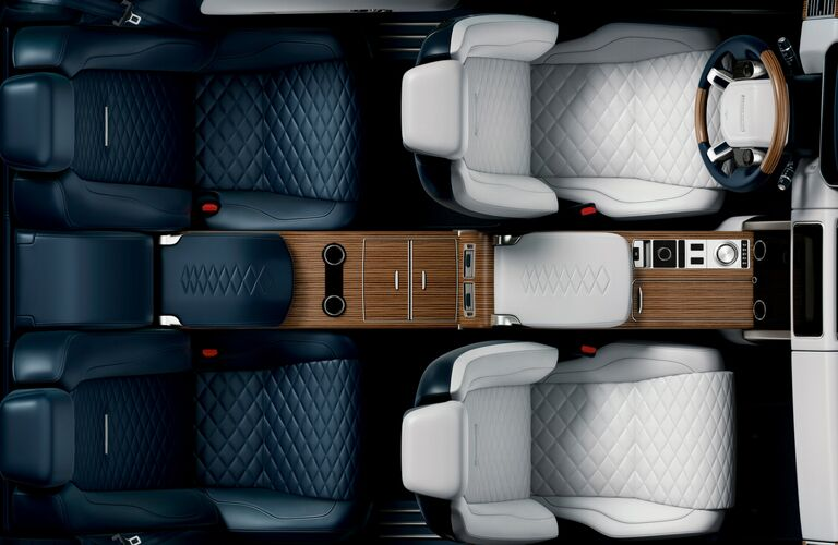 2019 land rover range rover overhead seating view