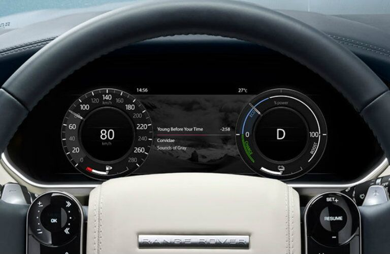 2019 land rover range rover sport phev digital driver display