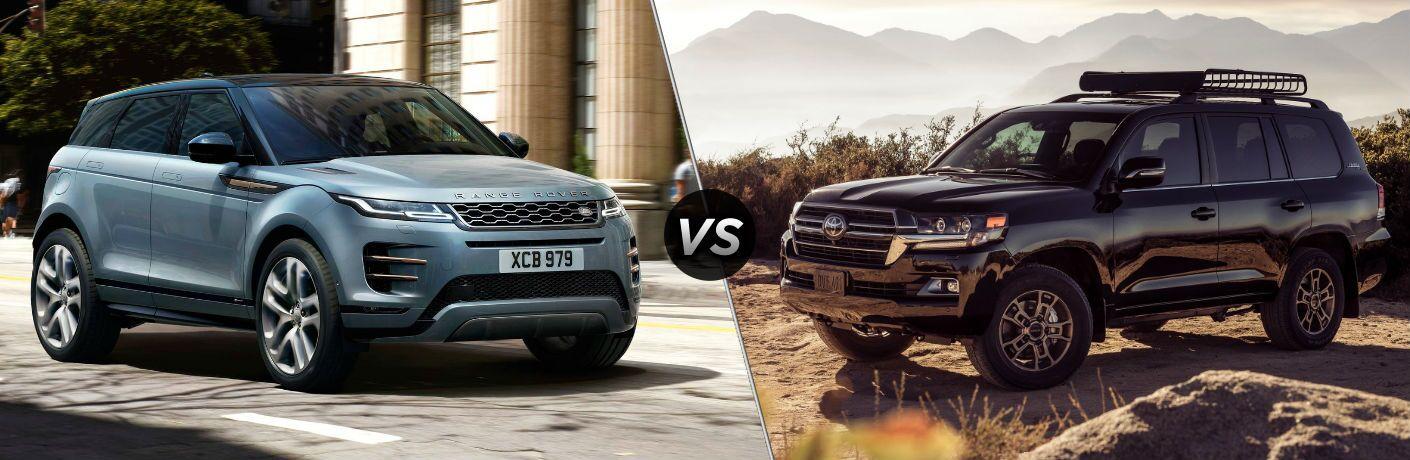 2020 Land Rover Range Rover vs 2020 Toyota Land Cruiser