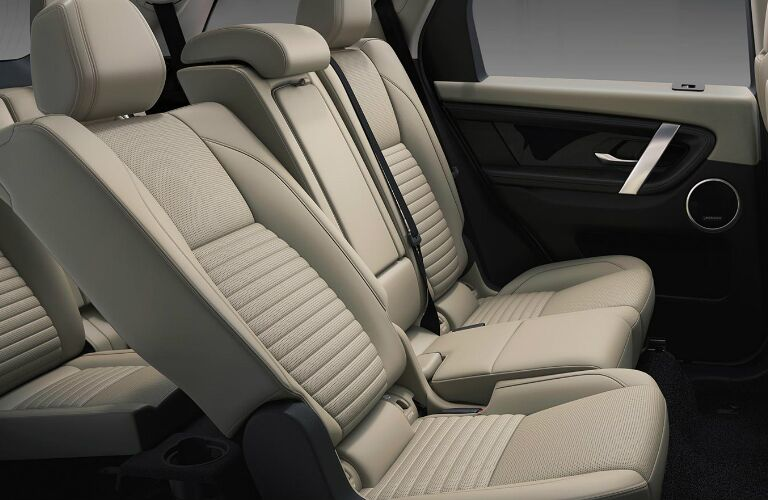 Beige seats in 2020 Land Rover Discovery Sport