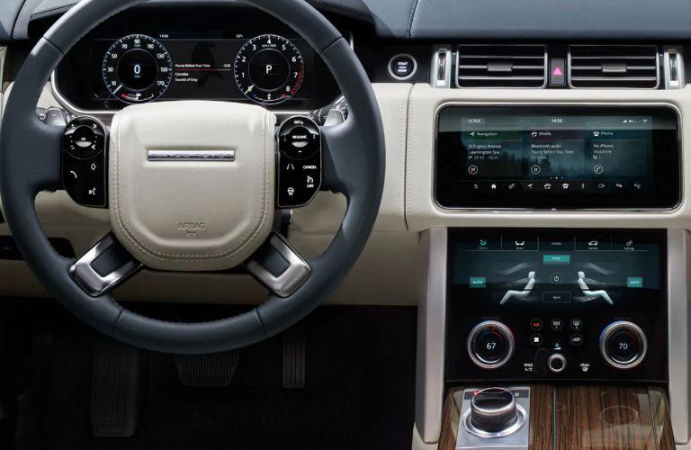 2020 Land Rover Range Rover dashboard