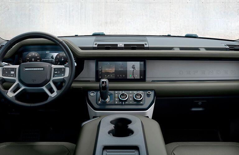 2021 Land Rover Defender steering wheel