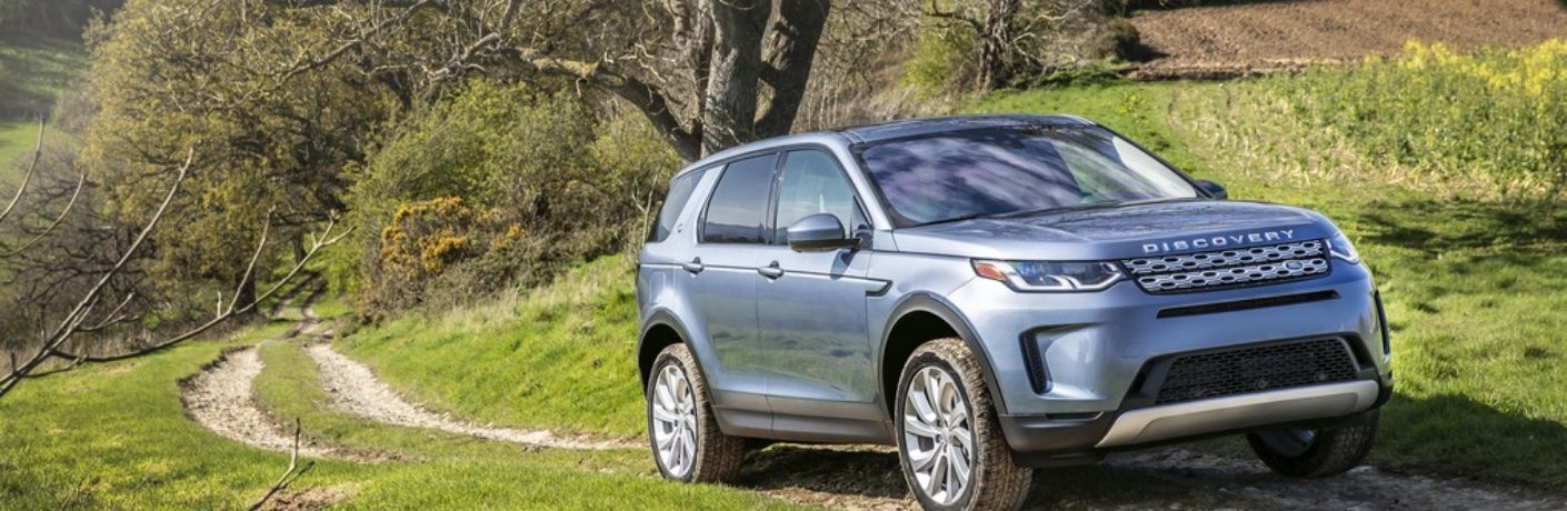 2021 Land Rover Discovery Sport on the road