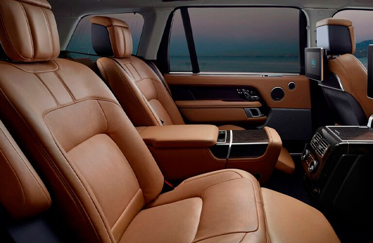 2021 Land Rover Range Rover second-row seating