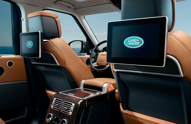 2021 Land Rover Range Rover rear seat media system