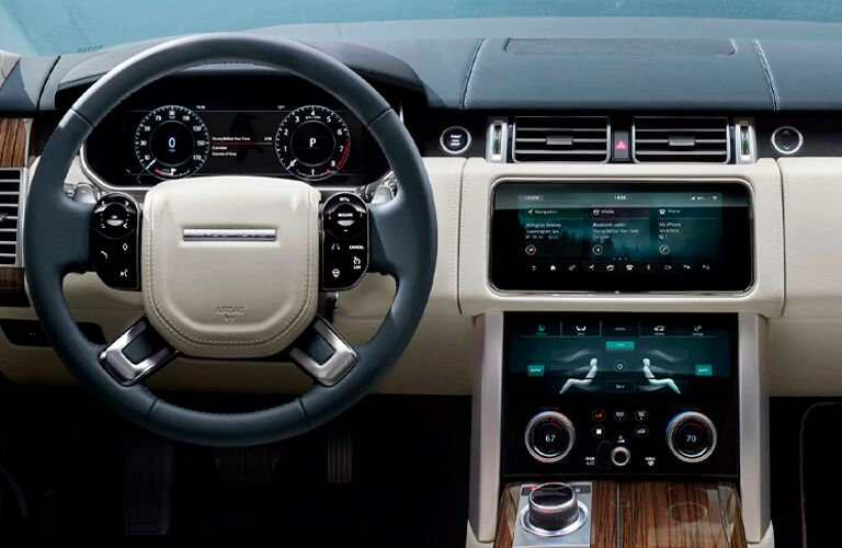 2021 Land Rover Range Rover steering wheel